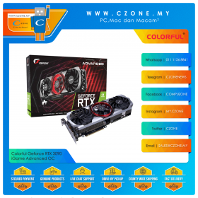 Colorful Geforce RTX 3090 iGame Advanced OC