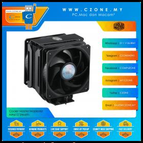 Cooler Master MasterAir MA612 Stealth With Dual Sickleflow Dual CPU Air Cooler (AMD, Intel, 2x 120mm SickleFlow Fan)