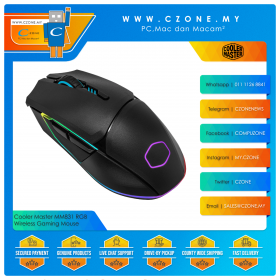 Cooler Master MM831 RGB Wireless Gaming Mouse (Qi Charging Support)