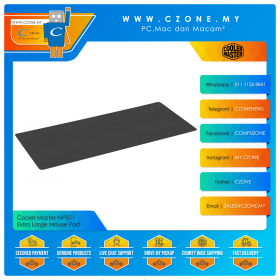 Cooler Master MP511 - Extra Large Mouse Pad (Soft, Extended, 900 x 400 x 3 mm)