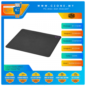 Cooler Master MP511 - Large Mouse Pad (Soft, 450 x 400 x 3 mm)