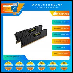 Corsair Vengeance LPX 64GB (2x32GB) DDR4 3200MHz - Black (CMK64GX4M2E3200C16)