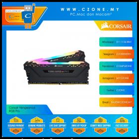 Corsair Vengeance RGB Pro 16GB (2x8GB) DDR4 3200MHz - Black (CMW16GX4M2E3200C16)