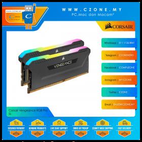 Corsair Vengeance RGB Pro SL 32GB (2x16GB) DDR4 3600MHz - Black (CMH32GX4M2D3600C18)