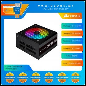 Corsair CX650F RGB Power Supply (650 Watts, 80plus Bronze, Fully Modular)