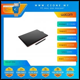 Wacom CTL-472/K0-C One (Small, Black)