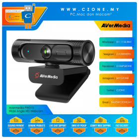 Avermedia PW315 Wide Angle HD Webcam