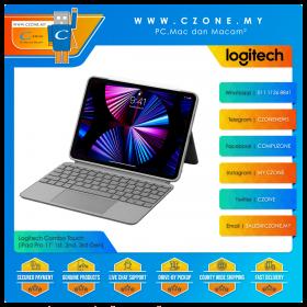 "Logitech Combo Touch (iPad Pro 11"" 1st, 2nd, 3rd Gen, Graphite)"