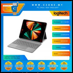 "Logitech Combo Touch (iPad Pro 12.9"" 5th Gen, Graphite)"