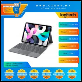 Logitech Combo Touch (iPad Air 4th Gen, Graphite)