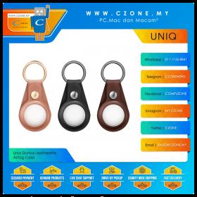 Uniq Domus Leatherette AirTag Case