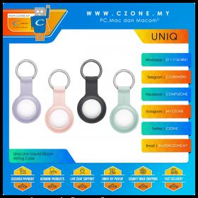 Uniq Lino Liquid Silicon AirTag Case