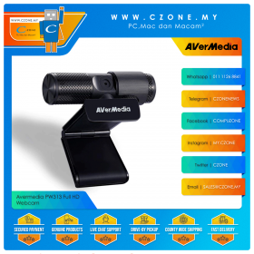 Avermedia PW313 Full HD Webcam with Mic