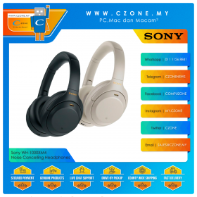 Sony WH-1000XM4 Noise Cancelling Over-Ear Wireless Headphones