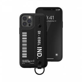 Diesel Handstrap Case Fw20 (iPhone 12/12 Pro, Black)