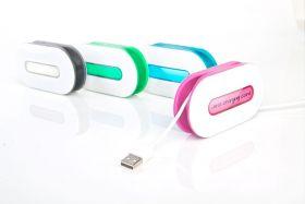 DOTZ Neon Wrap Id Cord Wrap (Magenta)