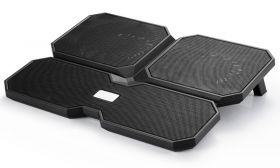 Deepcool Multi Core X6 Notebook Cooler (2x 14cm, 2x 12cm Fan)