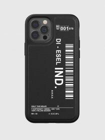 Diesel Graphic Snap Case (iPhone 12/12 Pro, Black/White)