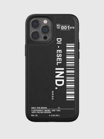 Diesel Graphic Snap Case (iPhone 12 Pro Max, Black/White)