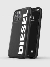 Diesel Snap Case (iPhone 12/12 Pro, Black/White)