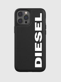Diesel Snap Case (iPhone 12 Pro Max, Black/White)