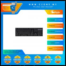 Ducky One 2 Blacklit Series Mechanical Keyboard (White LED)