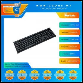 Ducky One 2 Phantom Black Series Mechanical Keyboard (Black Color)