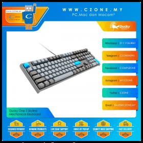 Ducky One 2 Skyline Mechanical Keyboard (Grey Color)