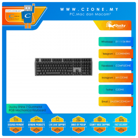 Ducky Shine 7 Gunmetal RGB Mechanical Keyboard