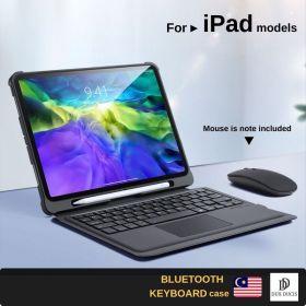 "Dux Ducis Wireless Keyboard Case (iPad Air 10.9""/iPad Pro 11"" 2020, Black)"