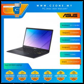 "Asus E410MA BV1254TS Laptop - 14"", Celeron N4020, 1.1GHz, 4GB, 512GB SSD, UHD, Win 10, Office H&S (Peacock Blue)"