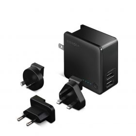 Energea Travelworld 5,000mAh Power Bank + 2 Usb Wall Charger