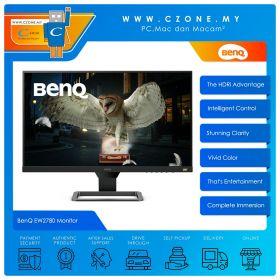 "BenQ EW2780 Monitor (27"", 1920x1080, IPS, 75Hz, 5ms, HDMIx3, Speakers, VESA)"