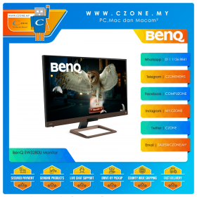 """BenQ EW3280U Monitor (31.5"""", 3840x2160, IPS, 60Hz, 5ms, HDMI x2, DP, USB-C, Speakers, VESA)"""