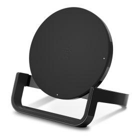Belkin BoostUp Qi Wireless Charger (10 Watts, Stand, Black)