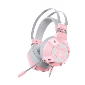 Fantech HG11 Captain 7.1 Surround Wired Gaming Headset (Pink)