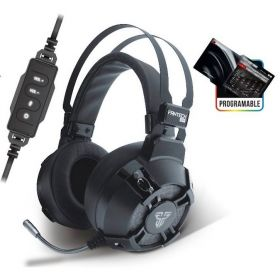 Fantech HG11 Pro Captain 7.1 Wired Usb Gaming Headset (Black)