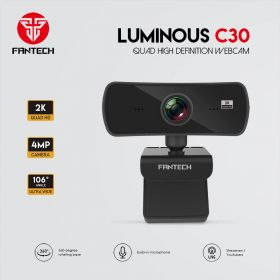 Fantech Luminous C30 Webcam (Quad HD, 4MP)