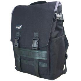 "Greenroom136 Genesis Backpack (Fits 15"" Laptop, Large, Black)"