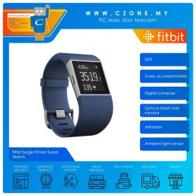 Fitbit Surge Fitness Super Watch (Small, blue)
