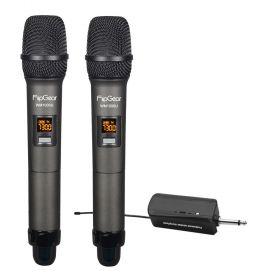Flipgear Universal Wireless Microphone Handheld Duo