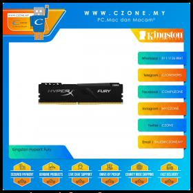 Kingston HyperX Fury 16GB (1x16GB) DDR4 3200MHz - Black (HX432C16FB3/16)