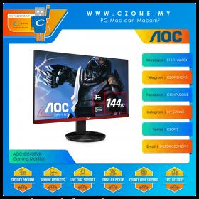 """AOC G2490VX Gaming Monitor (23.8"""", 1920x1080, VA, 144Hz, 1ms, HDMI, DP, VESA)"""