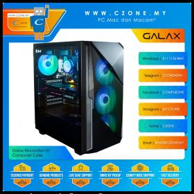 Galax Revolution-01 Computer Case (ATX, TG, Black)