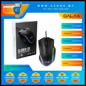 Galax Slider-01 RGB Gaming Mouse (Black)