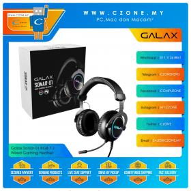 Galax Sonar-01 RGB 7.1 Wired Gaming Heatset (Black)