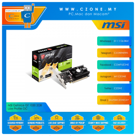MSI Geforce GT 1030 2GB D4 Low Profile OC