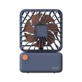 Gegei F3 Mini Portable Fan (Dark Blue)