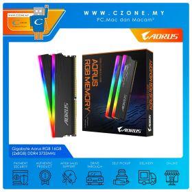 Gigabyte Aorus RGB 16GB (2x8GB) DDR4 3733MHz (GP-ARS16G37)