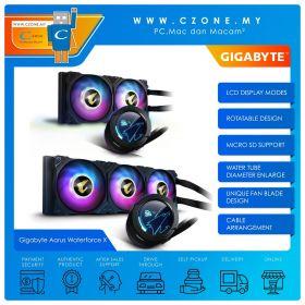 Gigabyte Aorus Waterforce X 240 / 360 AIO CPU Liquid Cooler